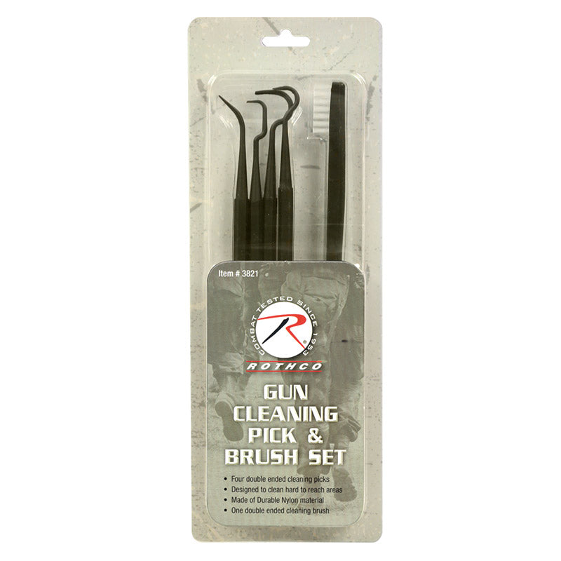 Gun Cleaning Pick & Brush Set