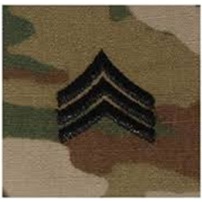 Army Patrol Cap Sew On Rank