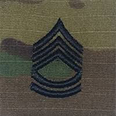 Army Patrol Cap Sew On Rank OCP