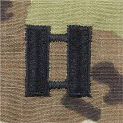 Army Patrol Cap Sew On Rank OCP CPT