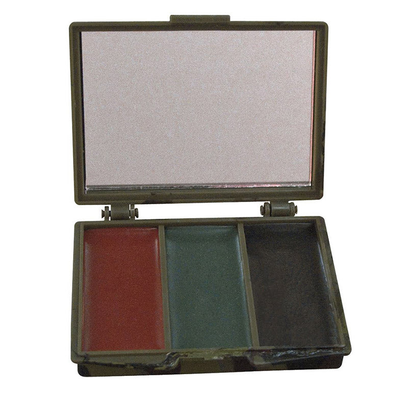 Rothco 3 Color Camo Face Paint - Square Compact