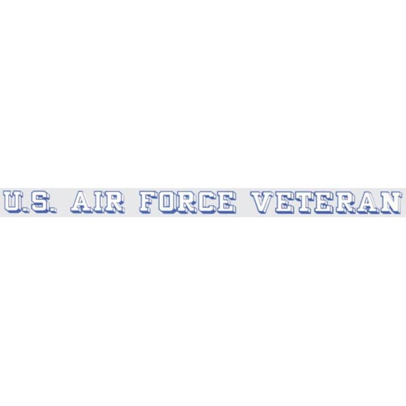 "USAF Veteran Window Strip 18""x1.25"""