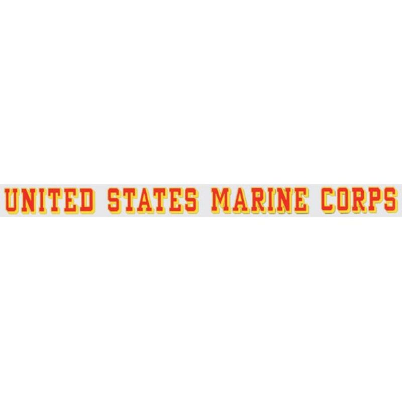 "United States Marine Corps Window Strip Decal 1.5""x17.25"""