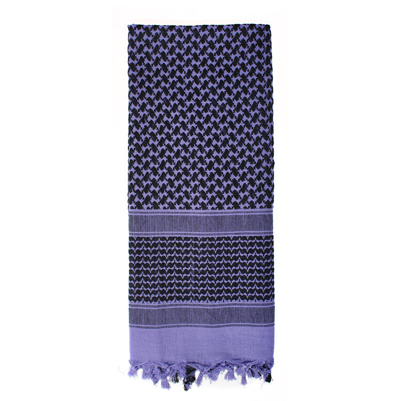 Rothco Shemagh Tactical Desert Scarf - Purple