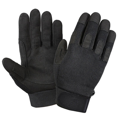 Black Lightweight All Purpose Duty Gloves