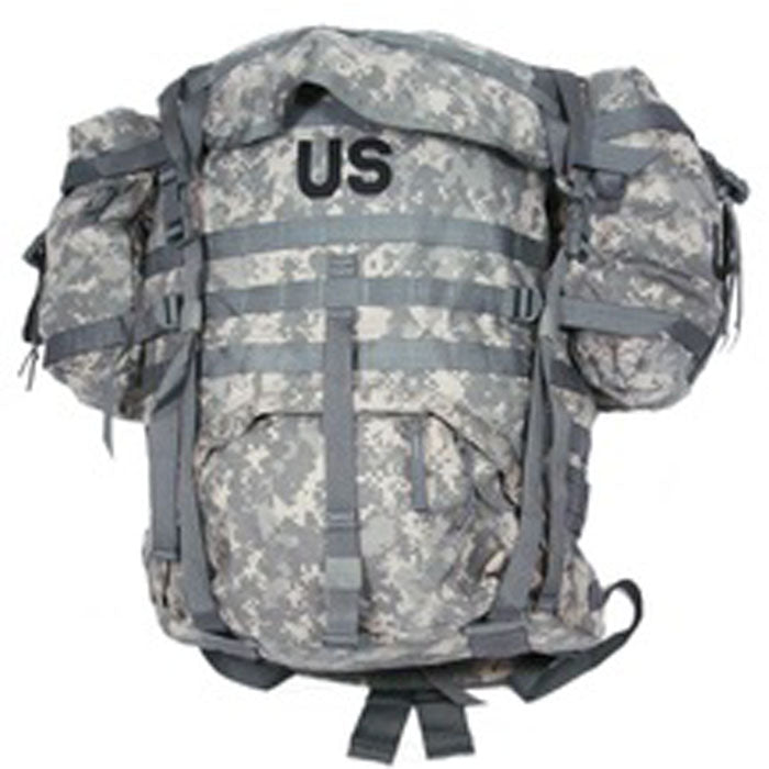 MOLLE ACU Rucksack System With Sustainment Pouches