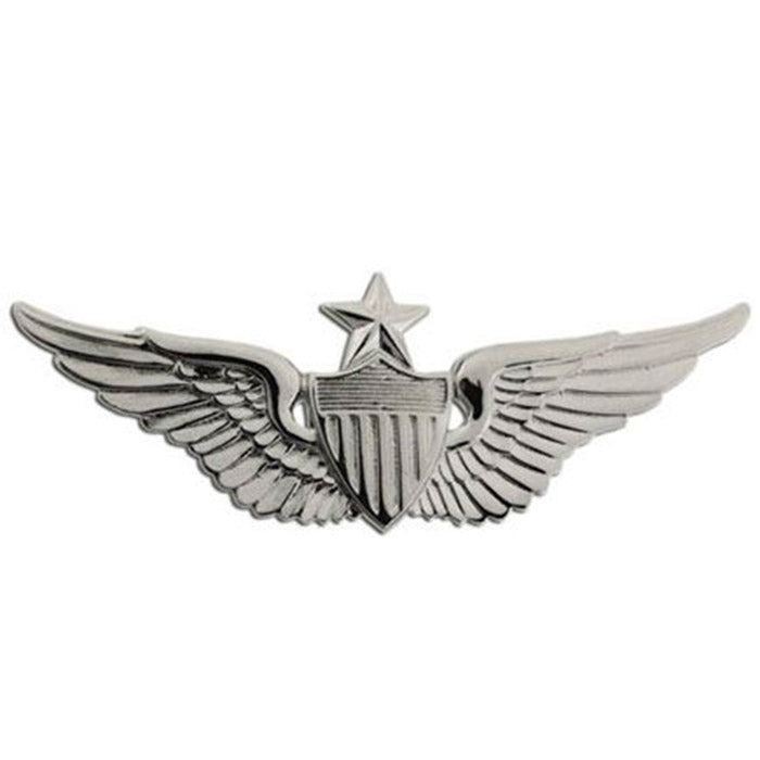 Miniature Army Aviator Senior Badge  - Brite