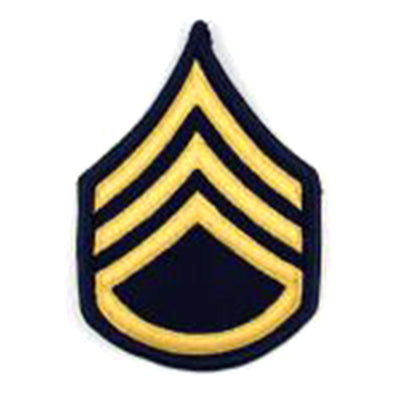 Army Dress Blue Sew On Rank