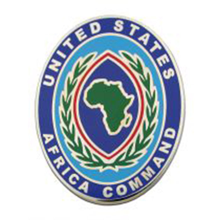 US Africa Command Combat Service Identification Badge