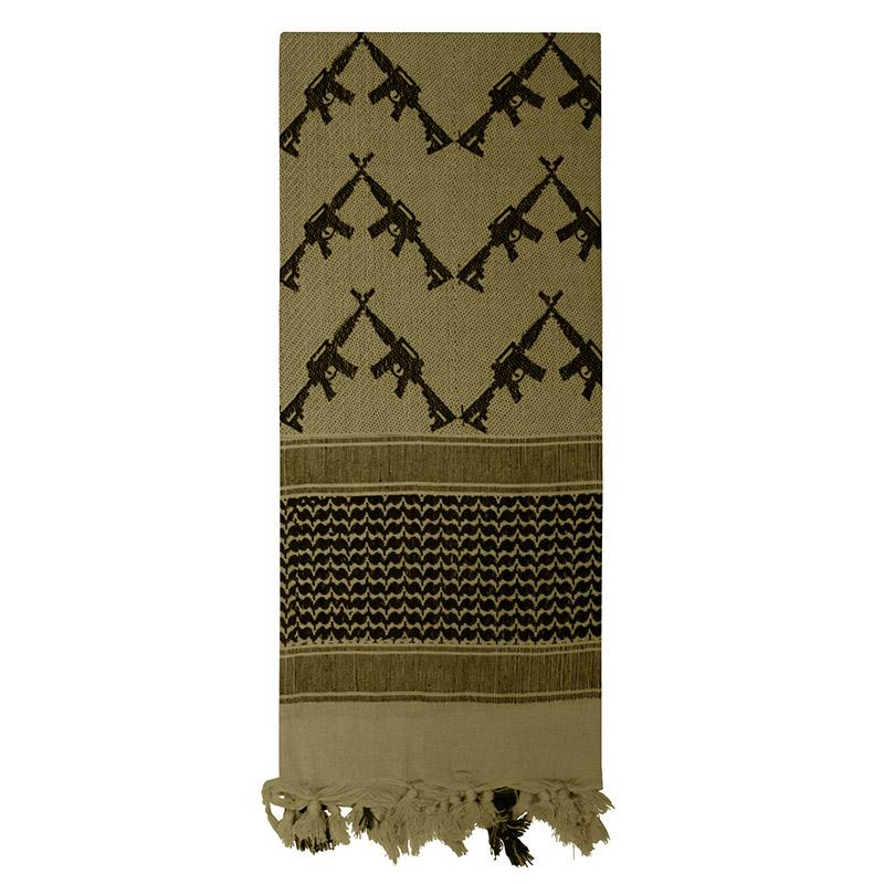 Shemagh Crossed Rifles Tactical Desert Scarf