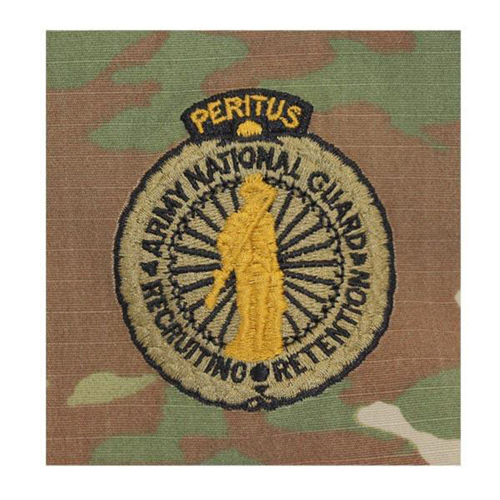National Guard Recruiter OCP Sew-On Badge