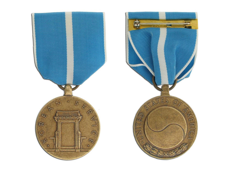 Korean Service Medal - Large