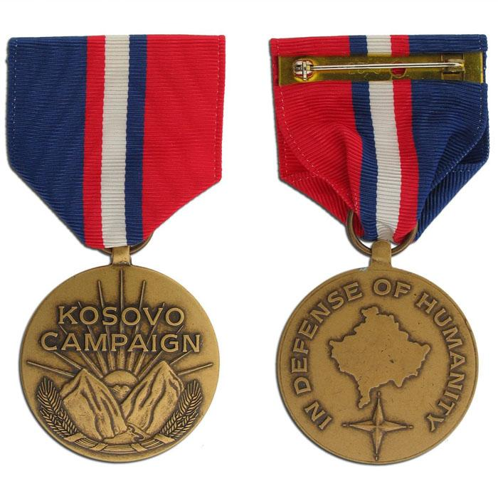 Kosovo Campaign DOD Medal - Large