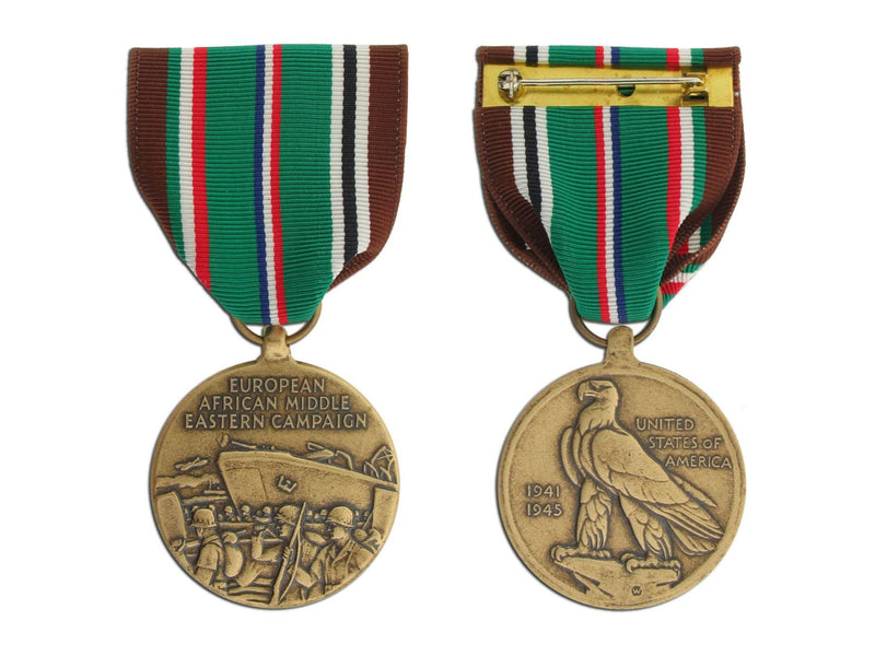 Large Medal European African Middle Eastern Campaign
