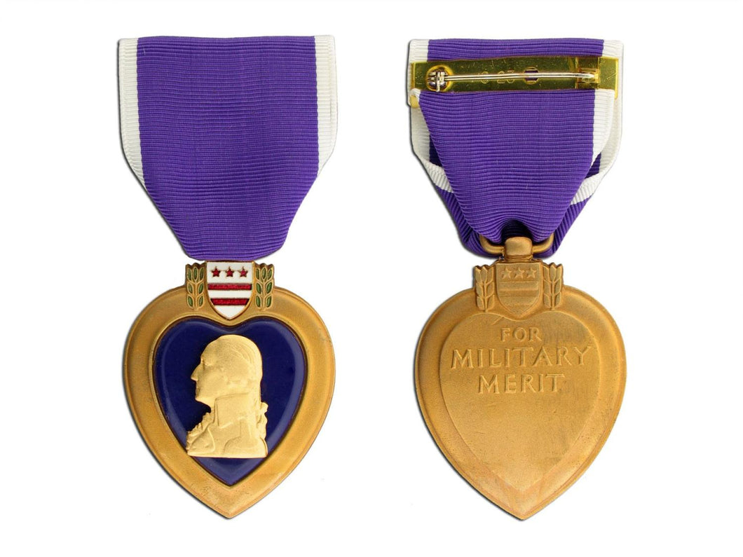 Large Medal Purple Heart