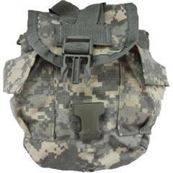 MOLLE ACU 1 Quart Canteen Cover - Used