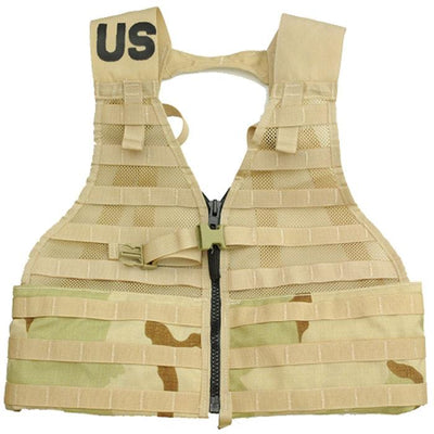 Genuine Issue MOLLE Fighting Load Carrier (FLC) Vest - ACU - BDU