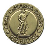 National Guard Recruiter Old Style Badge