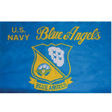 Navy Blue Angels Flag Super Polyester 3' x 5'