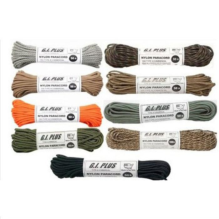 Nylon Paracord Type III 550 LB 100FT