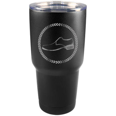 Personalized 30 Ounce Black Tumbler