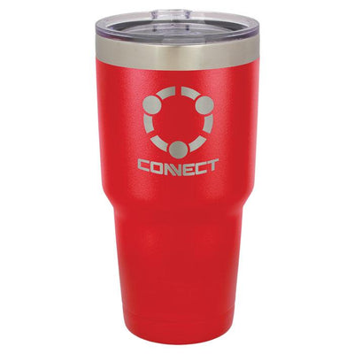 Personalized 30 Ounce Red Tumbler