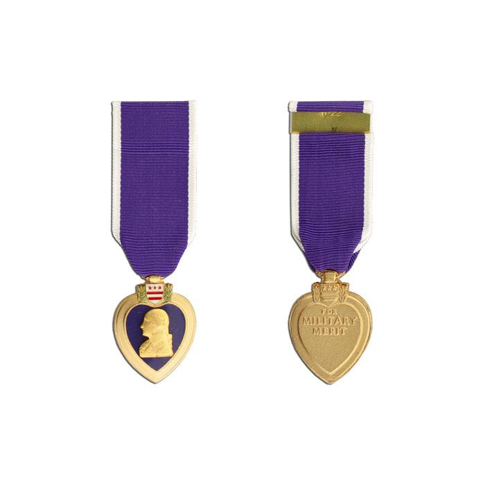 Purple Heart Medal, Miniature