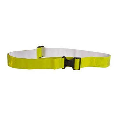 Reflective Vinyl Belt with Buckle