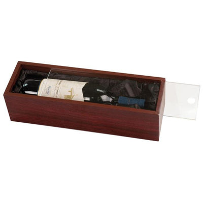 Rosewood Finish Wine Box