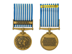 United Nations Service Korea Medal - Large