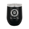 Proud Army Wife Veteran Insulated Stemless Wine Glass