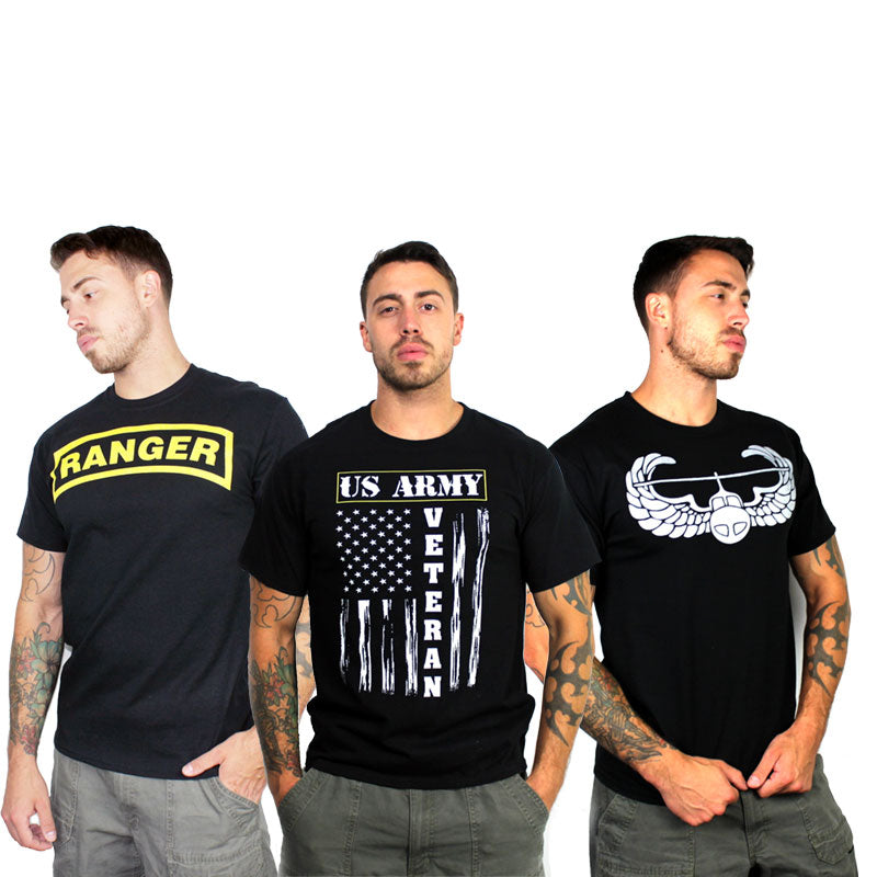 Army Morale T-Shirt - Black