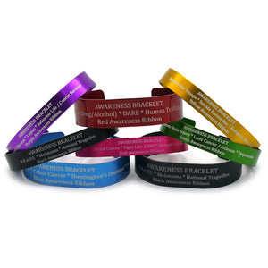 Custom Awareness Bracelet