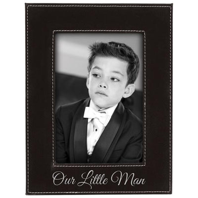 Personalized Leatherette Photo Frame