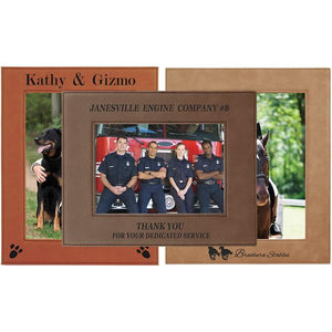 Laserable Leatherette Photo Frame
