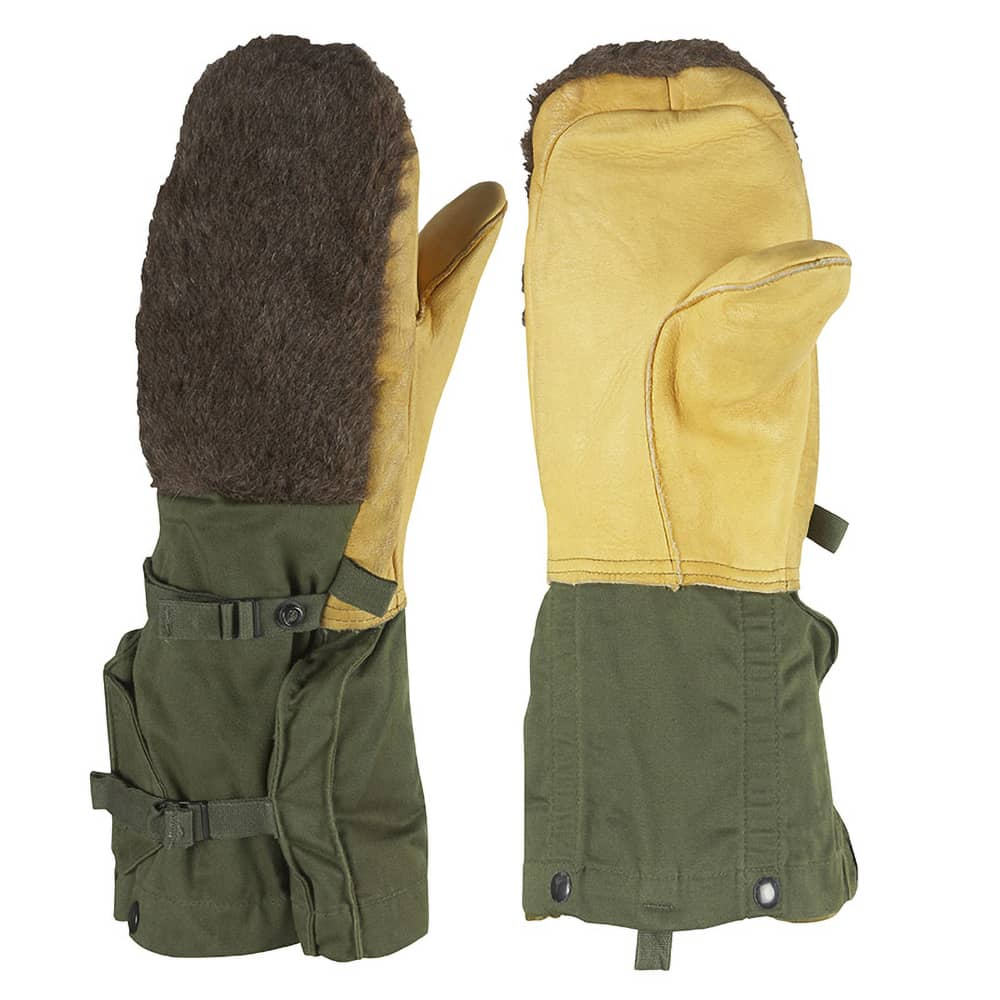 Extreme Cold Weather Olive Drab Arctic Mitten - Used