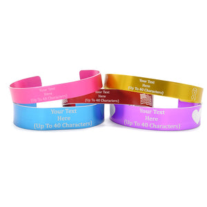 Multiple Colored Memorial Bracelets
