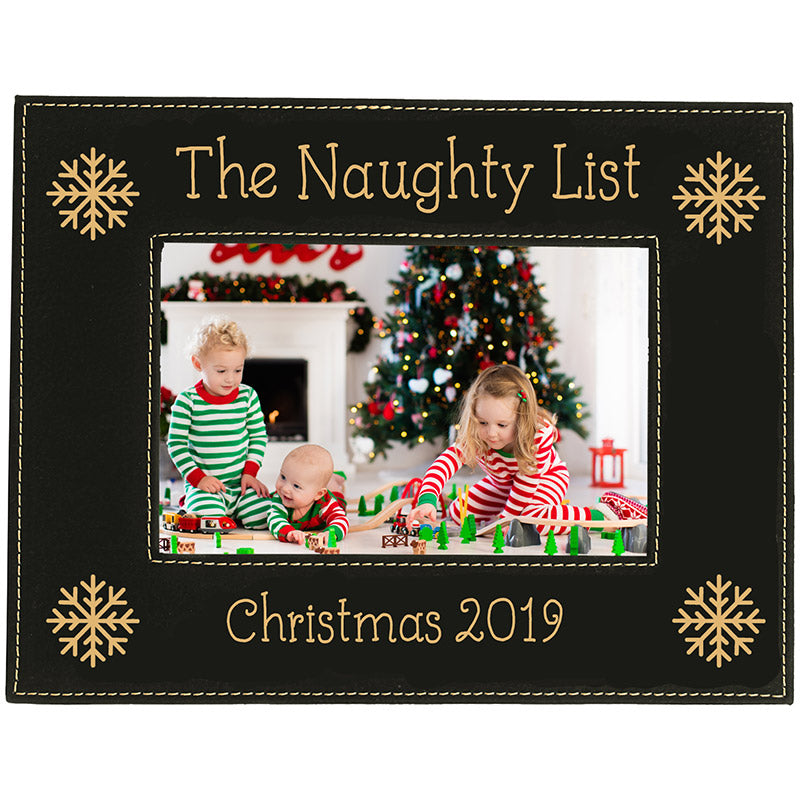 The Naughty List Picture Frame
