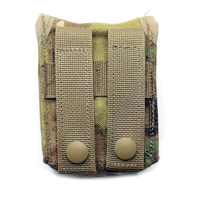 Back of MOLLE II Hand Grenade Pouch - OCP