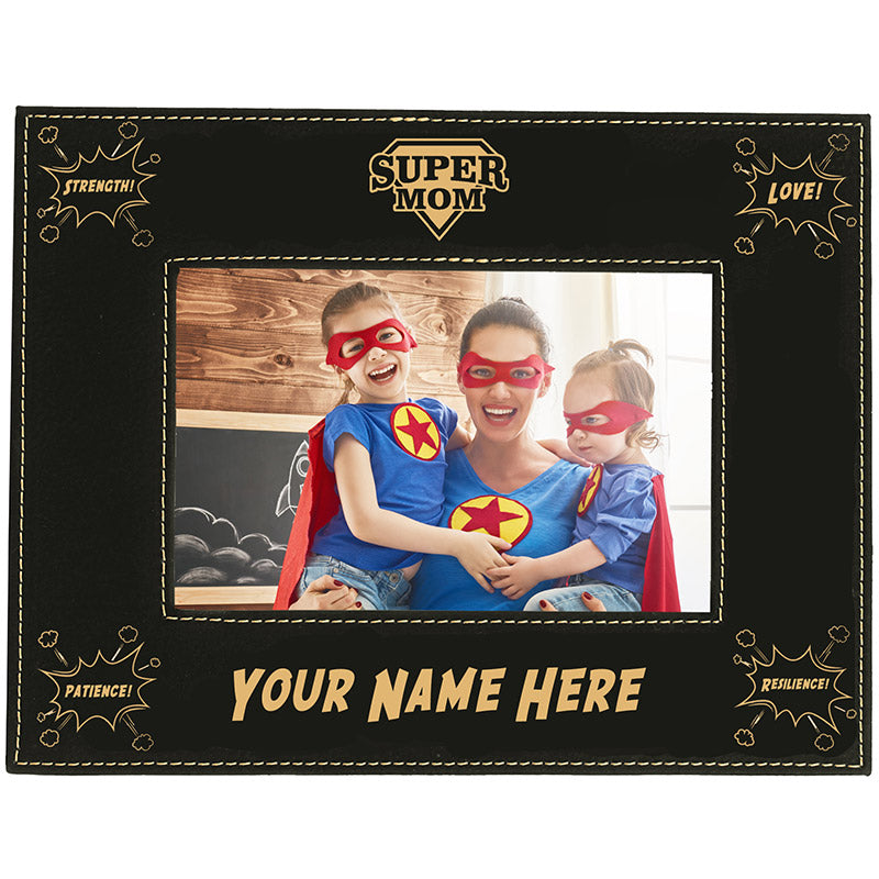 Super Mom Personalized Frame
