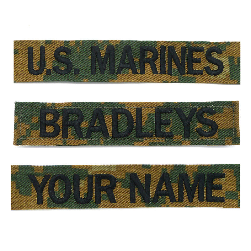 U.S. Maines Name Tape