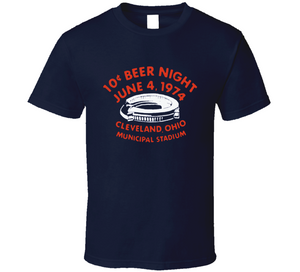 10 Cent Beer Night Cleveland Baseball T Shirt