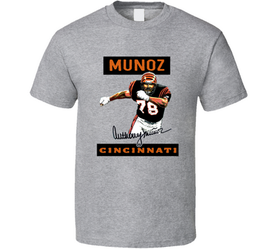 Anthony Munoz Cincinnati Football Sports T Shirt