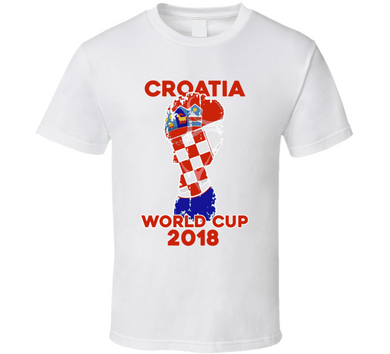 Croatia World Cup 2018 T Shirt