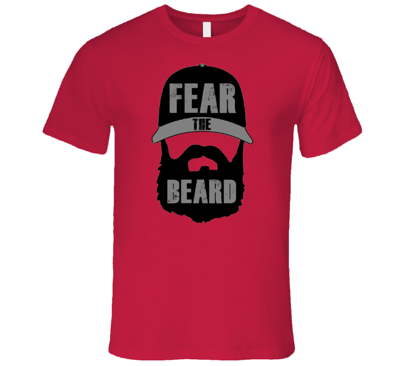 Eric Weddle Fear The Beard San Diego T Shirt