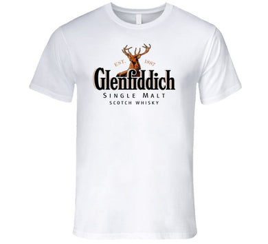 Glenfiddich Single Malt 1887 Scotch Whisky Alcohol T Shirt