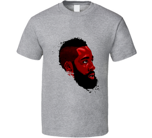 James Harden Houston All Star Basketball T Shirt