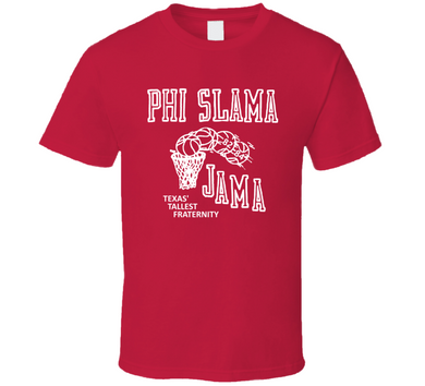 Phi Slama Jama Houston Cougars 1982 Basketball T Shirt
