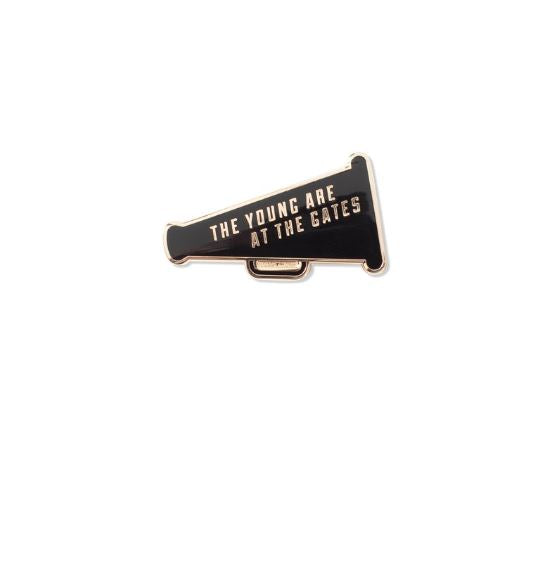The Young Enamel Pin