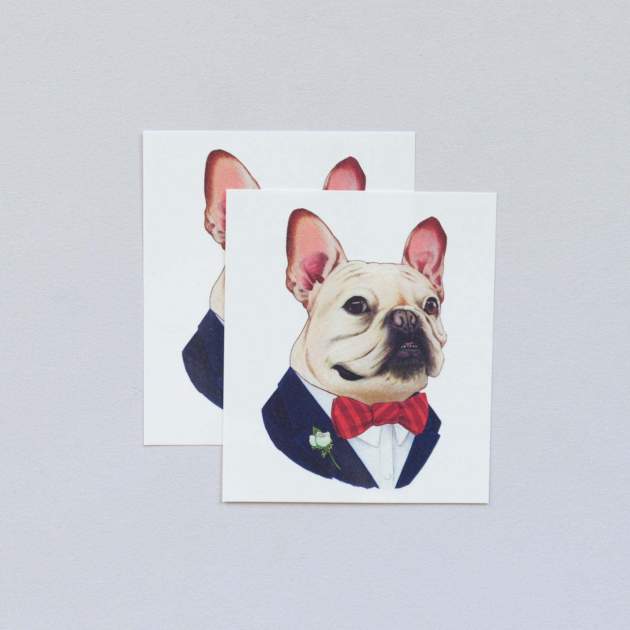 Tattoo Pair French Bulldog